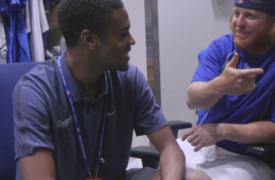 VIDEO: How the Dodgers Changed the Life of Clubhouse Assistant R.J. Peete