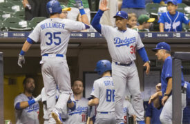 WATCH: Two Clutch Home Runs Send Dodgers Past Brewers in 12