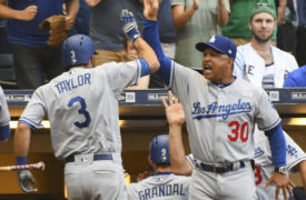WATCH: Chris Taylor's Grand Slam Completes Epic Comeback