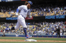 WATCH: Justin Turner Caps First-Half with 2 Home Runs