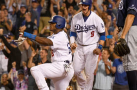 WATCH: Corey Seager, Yasiel Puig Come Up Clutch to Beat Padres