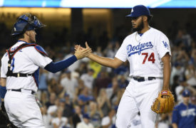 Dodgers' Kenley Jansen On Clinching In LA And Yasiel Puig Batting Cleanup