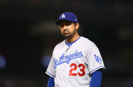 Dodgers' Adrian Gonzalez In Italy While World Series Is About To Begin
