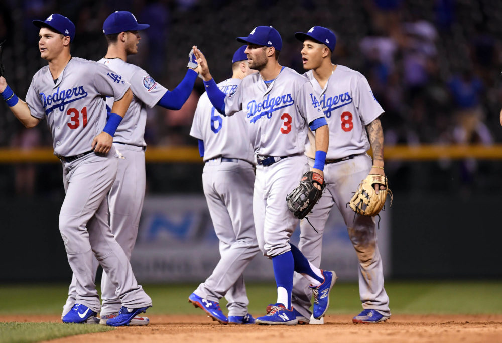 Dodgers Defeat Rockies Behind Big Bats
