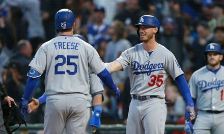 The Dodgers' Cody Bellinger Takes Home April's Triple Crown