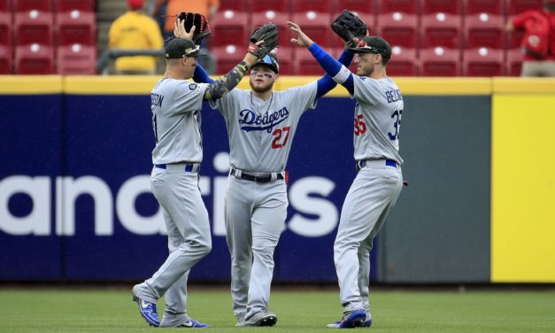 Dodgers Outfield Scores High Marks In Advanced Metrics