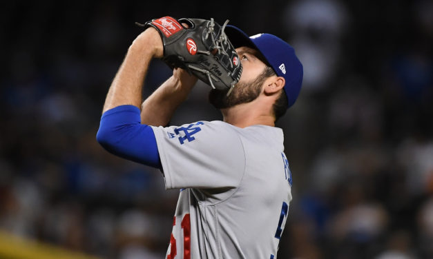 LA Dodgers Recall Dylan Floro from Triple-A