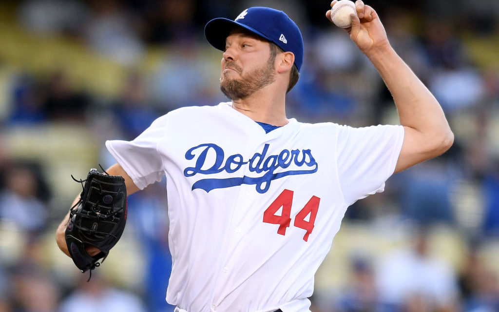 Dodgers News: Rich Hill has a Possibility to Start in the Playoffs